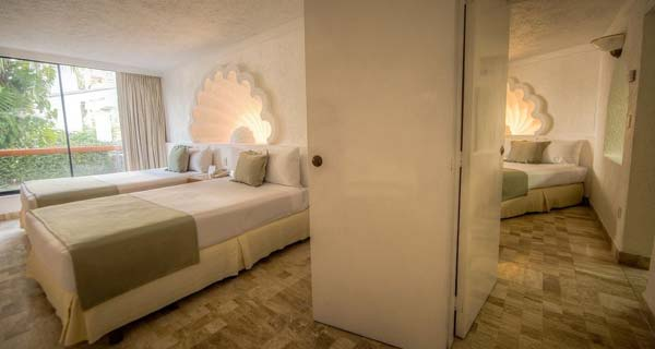 Accommodations - Park Royal Acapulco All Inclusive Family Beach Resort